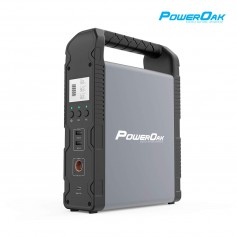 PowerOak - PowerOak PS1 55400mAh / 200Wh solar AC/DC generator - PowerOak - PS1