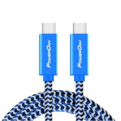 PowerOak - PowerOak C1 USB-C 3.1 gen2 10Gbps cable - Connectivity - PO-C1
